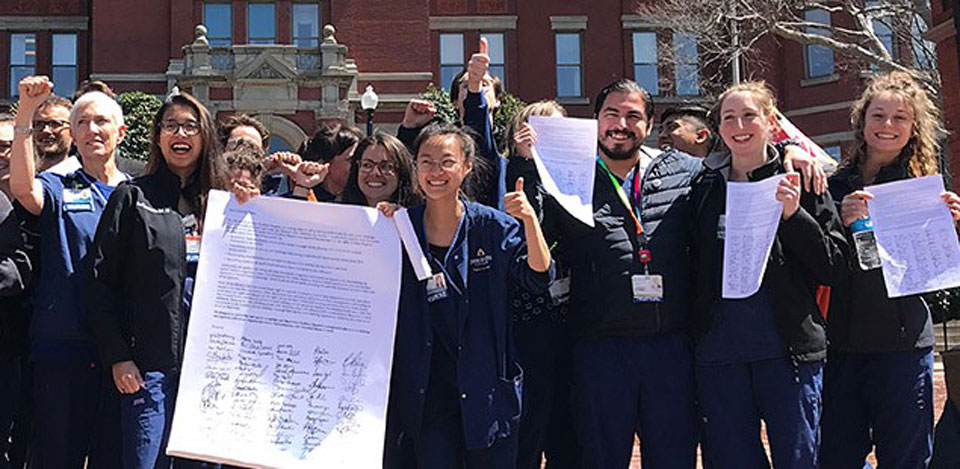 Baltimore's John Hopkins Hospital says it will allow nurses to unionize