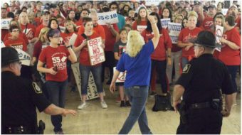 GOP moves to ban teacher strikes in West Virginia