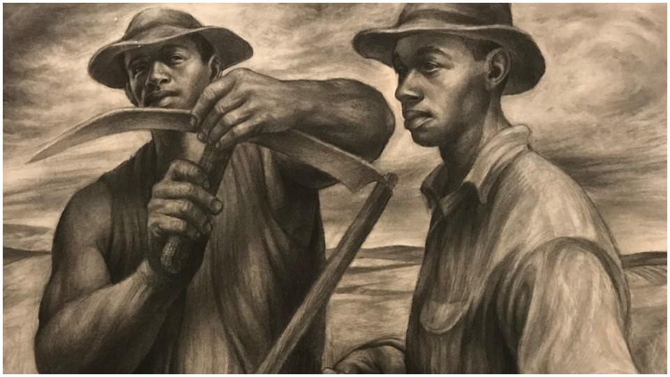 Comprehensive retrospective of African-American artist Charles White at LACMA