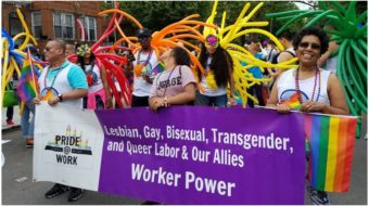 We're here, we're queer, and we're union
