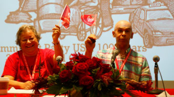 U.S. Communists elect new leaders to begin party's second century