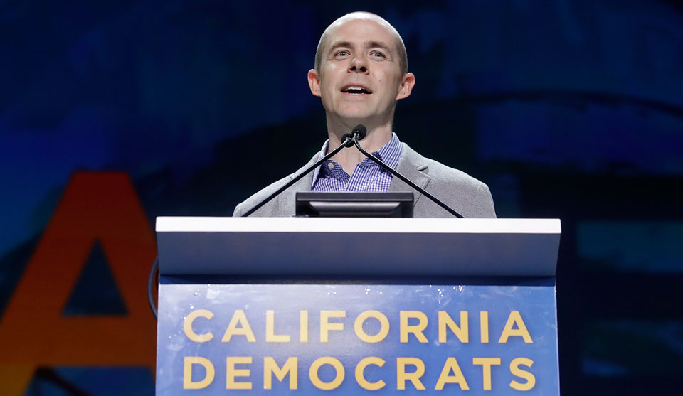 California Democratic Party elects union leader Rusty Hicks as chair