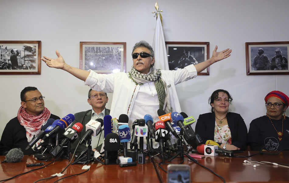 FARC leader Santrich freed, but peace is still held hostage in Colombia