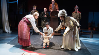 Bertolt Brecht's Marxist masterpiece 'Caucasian Chalk Circle' in stunning production