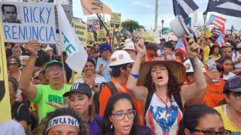 Massive demonstrations demand resignation of Puerto Rico governor