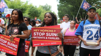 Johns Hopkins Hospital: Union-buster and predatory debt collector