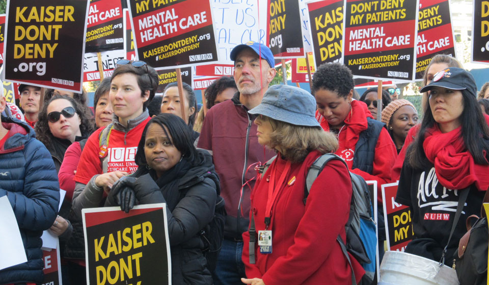 Calif. mental health clinicians to Kaiser Permanente: Let us care for patients