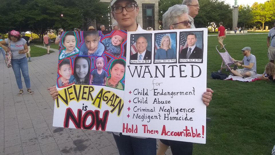 Nashville: Hundreds demand immediate closing of concentration camps