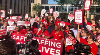 Short staffing, security problems force Univ. of Chicago nurses onto info picket line