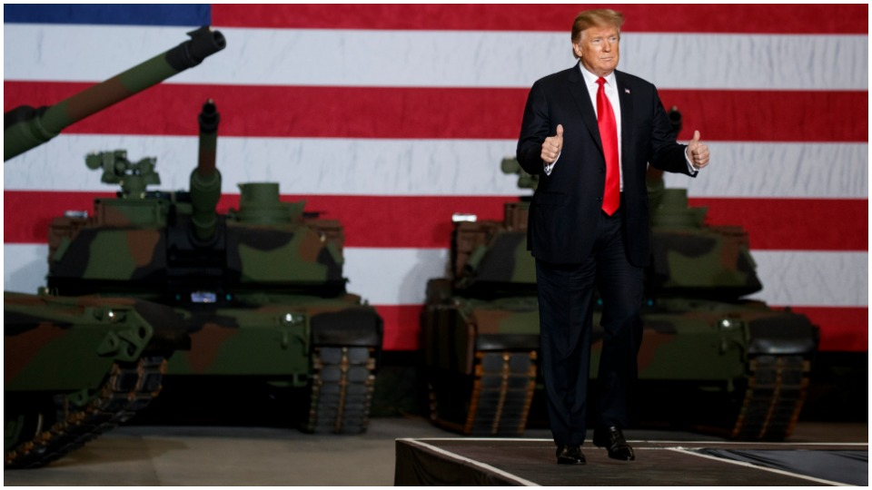 Tanks, but no tanks: Trump's July 4 war machine showcase draws flak