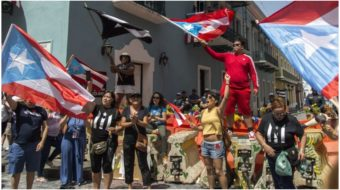 """""""A People's Impeachment"""": Protests force Puerto Rico governor's resignation"""
