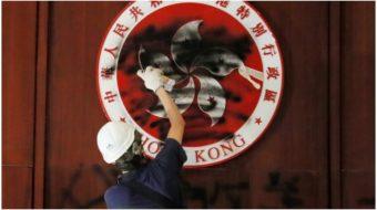 Hong Kong protests erupt amidst U.S. trade war against China—Coincidence?