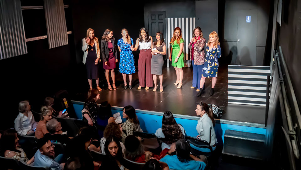 From the Hollywood Fringe Festival 2019: 'Tales From the Powder Room'
