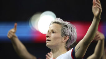 Megan Rapinoe is being Megan Rapinoe at the World Cup