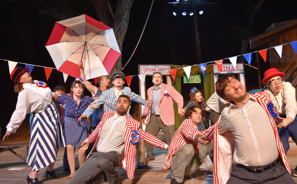 Thornton Wilder says humanity must go on in 'The Skin of Our Teeth'