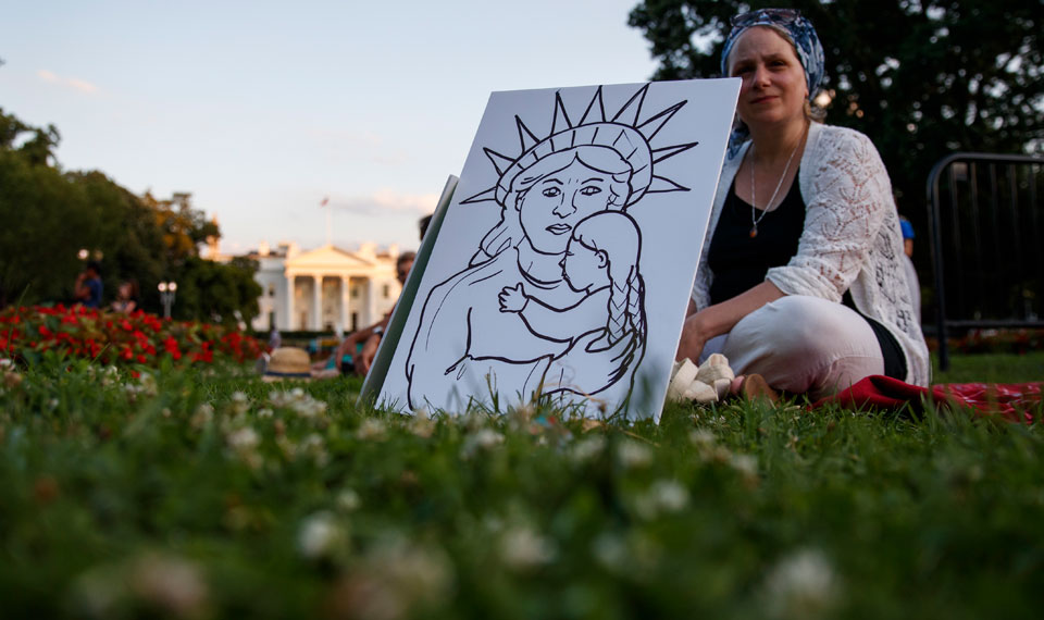 'Lights for Liberty' protests deliver message: Close the migrant concentration camps