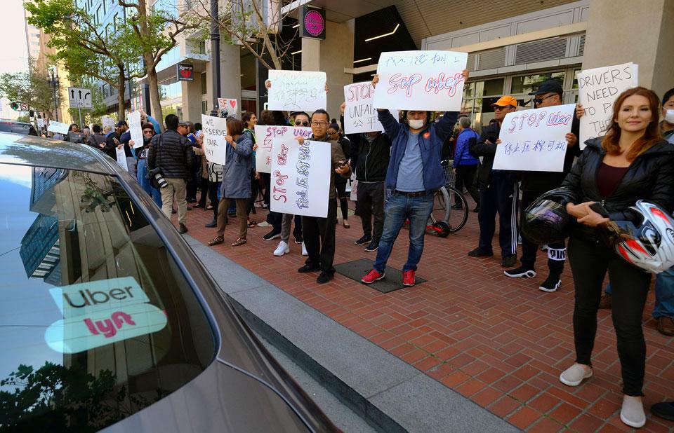 California gig workers eye a win if landmark bill passes state Senate
