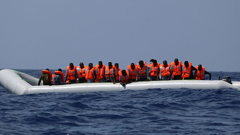 Hundreds of migrants are still stranded in the Mediterranean