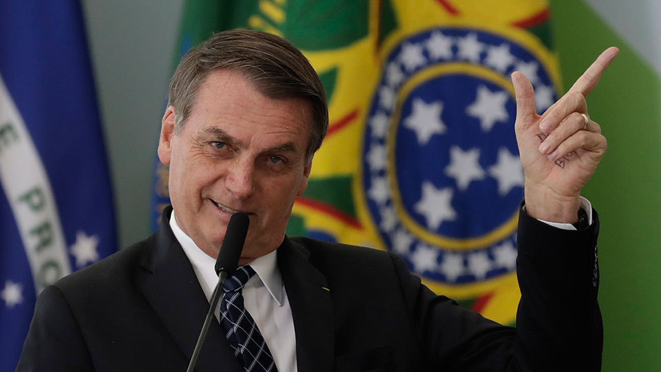 Bolsonaro: I'll save Amazon rainforest by giving it to corporations