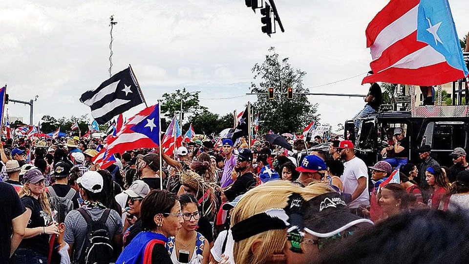 "Puerto Rican ""people's assemblies"" begin to challenge U.S. colonialism"