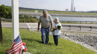 Cleanup workers left sick and dying after coal ash spill