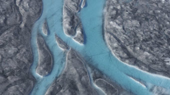 Greenland is melting away as global temperatures soar