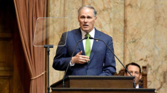 Jay Inslee, who led push for climate debate, drops out of presidential race