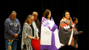 Indigenous sovereignty issues confront Democratic candidates at Frank LaMere Forum