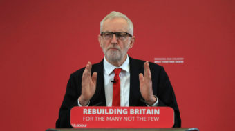 Labour leader Jeremy Corbyn pushes effort to topple Britain's hard-right government