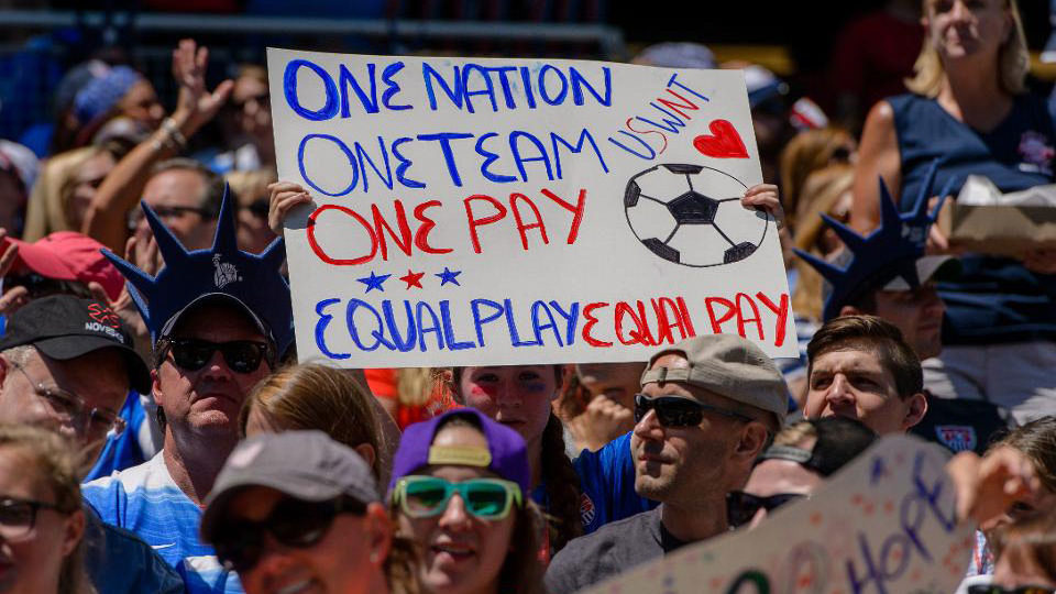 Talks break down between Women's Soccer and Federation over pay equity