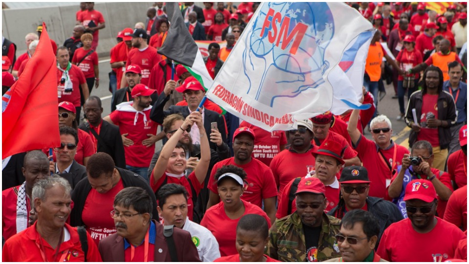 Workers of the world, unite (at last)