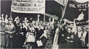 Against fascism and war: The Communist Party USA's third decade