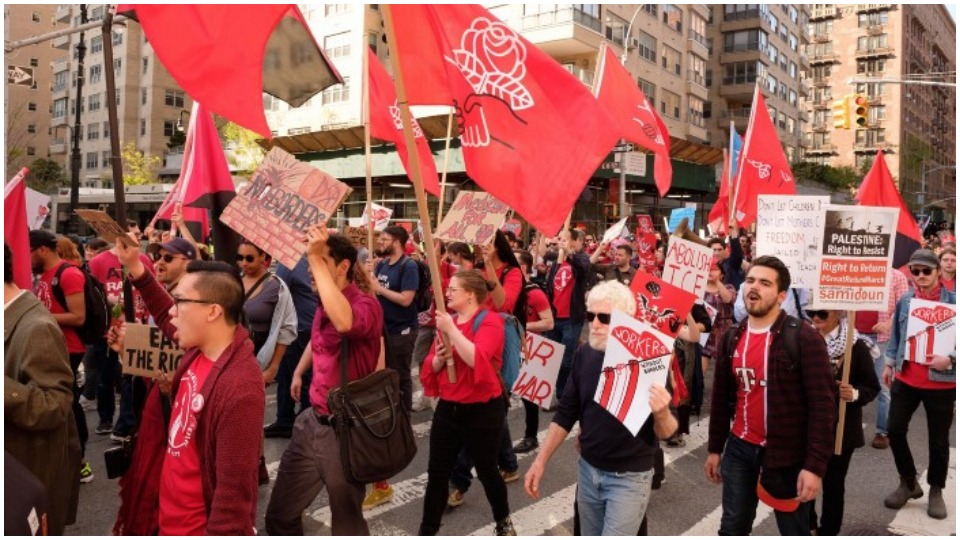 2020 elections and organizational questions dominate Democratic Socialists of America convention