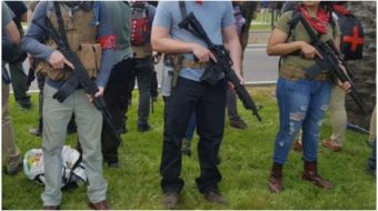 Is armed community self-defense the answer to white supremacist terrorism?