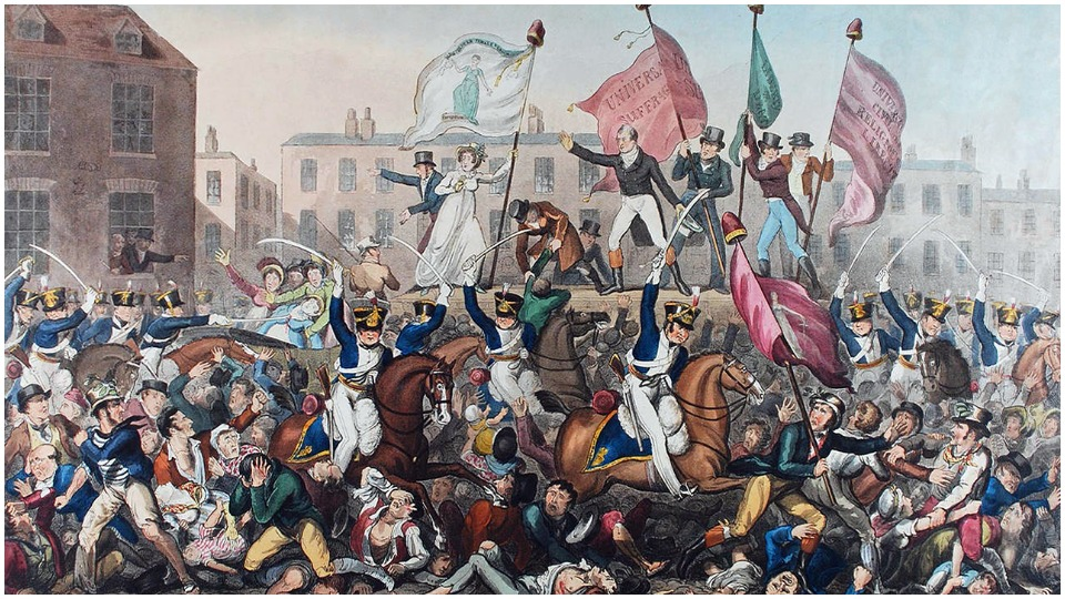Poetry selections for the 200th anniversary of the Peterloo Massacre