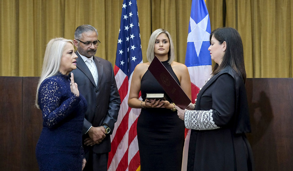 Wanda Vásquez, Puerto Rico's third governor in a week, facing criticism