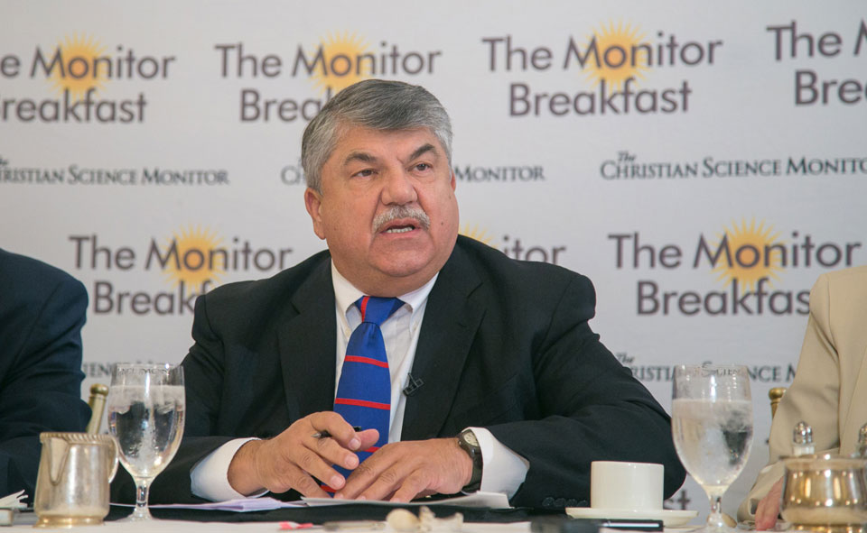 """Trumka: Workers """"not interested in a sliver of change"""""""