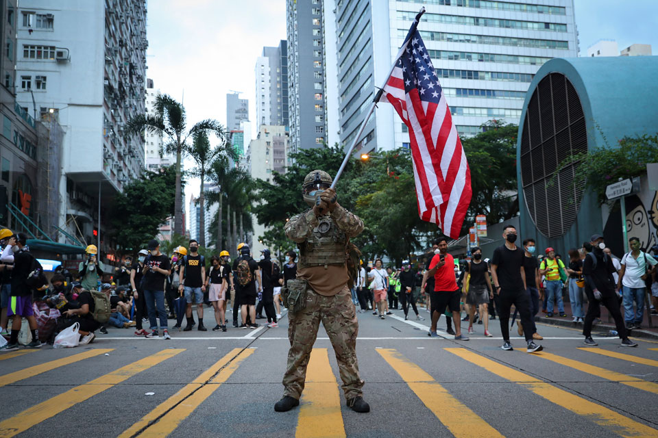 U.S.' claims of innocence in Hong Kong are fooling no one