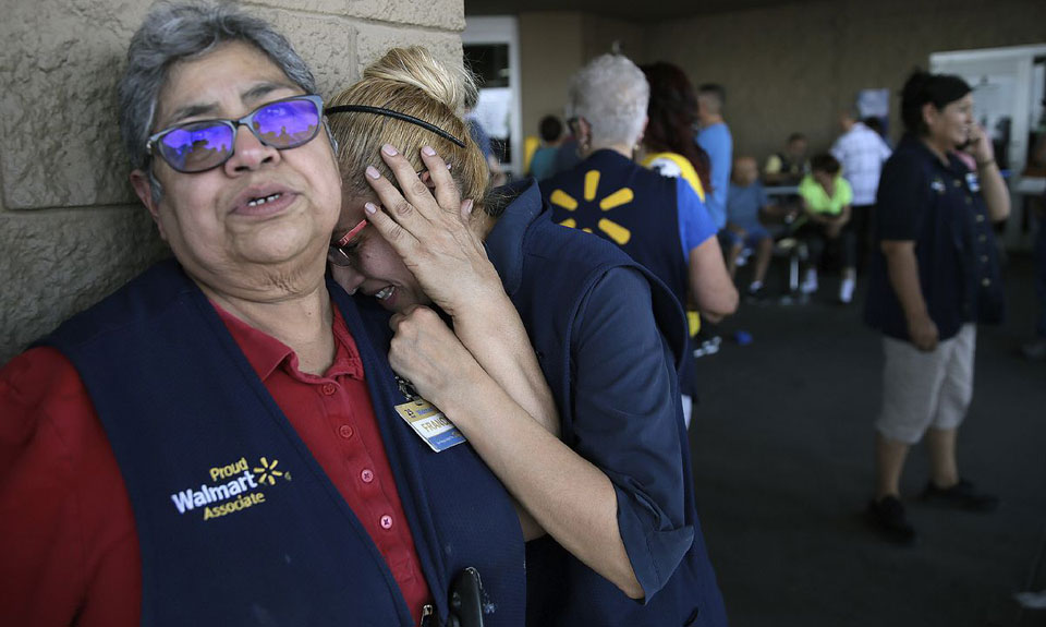 After El Paso massacre, California Walmart workers walk out over gun sales