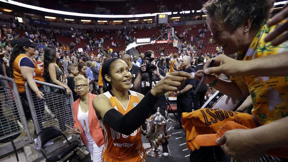 Basketball's Maya Moore dedicated to criminal justice