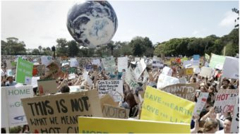 Millions rise up worldwide for climate strike