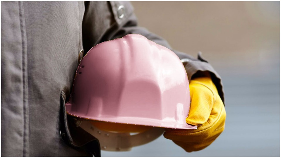 Working-class solidarity: George Edwards and the pink hard hat
