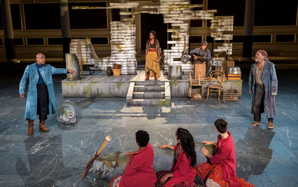 The art of 'The Heal,' Sophocles's 'Philoctetes' in a Malibu amphitheater