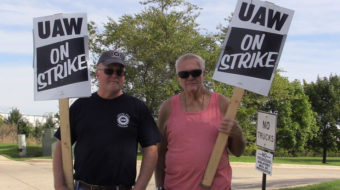 Striking GM workers push for fairness for everyone on the job
