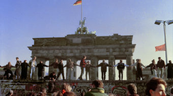 "Thirty years later the Berlin Wall is again being ""remembered"""