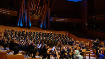 Los Angeles Master Chorale features 'Oceana' with lyrics by Pablo Neruda