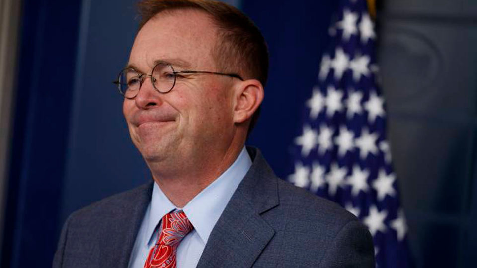 """Impeachment crisis: Mulvaney admits guilt but says """"get over it"""""""