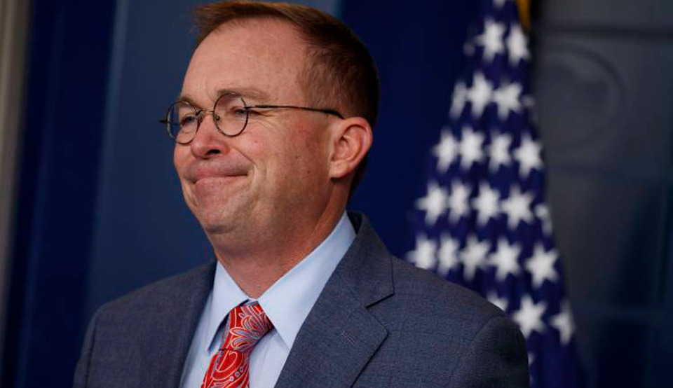 "Impeachment crisis: Mulvaney admits guilt but says ""get over it"""