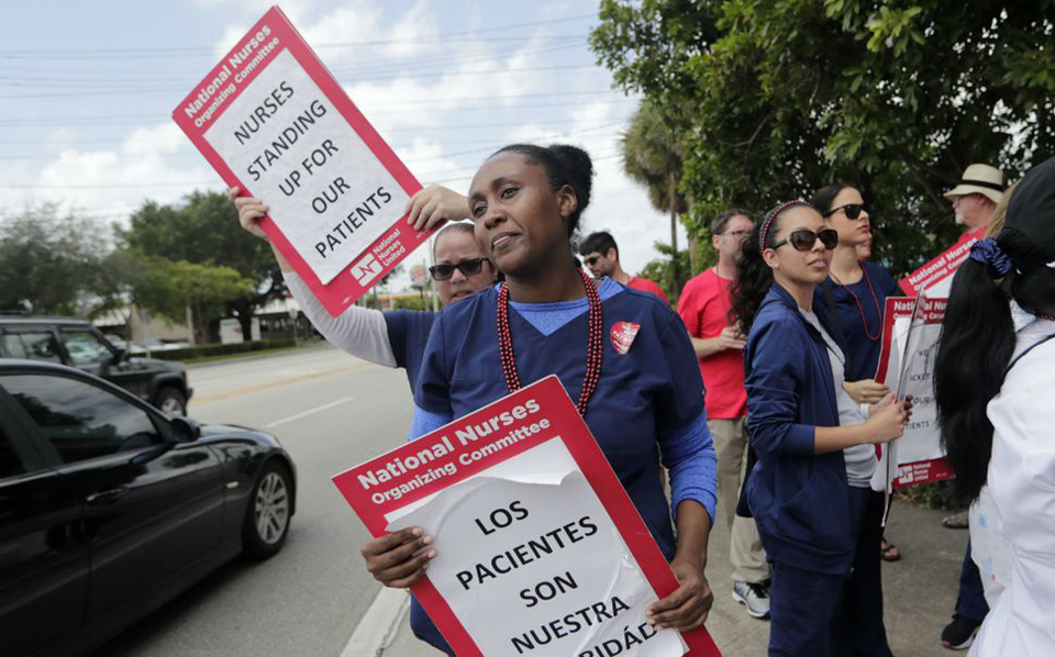 Arizona's registered nurses fight for patients in 24-hour strike