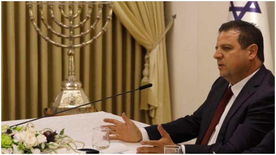 Israeli Arab lawmaker Ayman Odeh to Gantz: Accept us into government